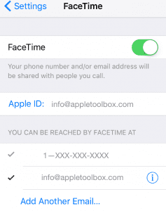 FaceTime's Not Working iOS 10, How-To Fix