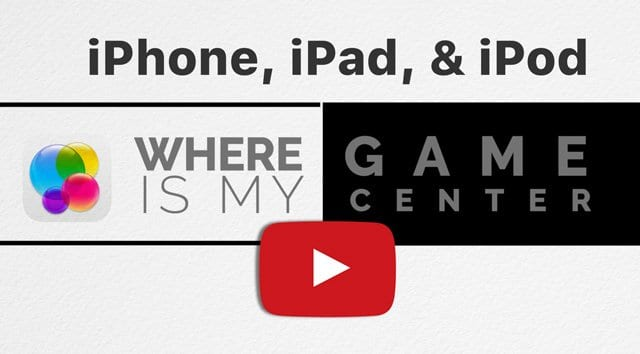 Where is Game Center app? Now using iMessage, iCloud
