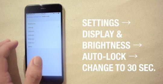 Change Auto Lock Setting in iOS 10, Slow iPhone and battery Issues with iOS 10