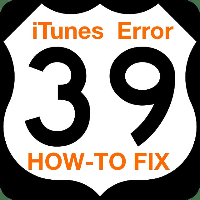 itunes-error-39-how-to-fix