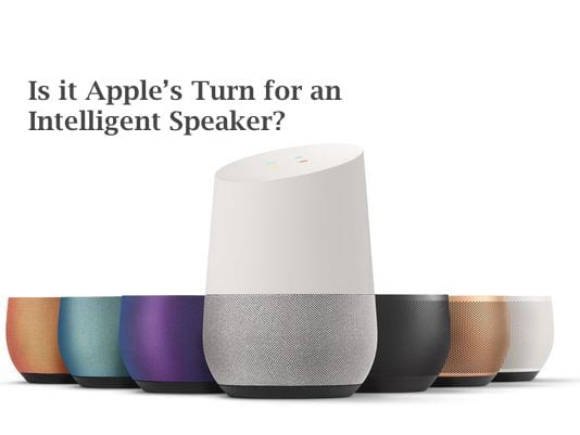 Apple intelligent Speaker