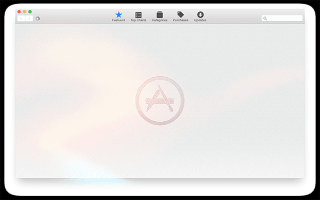 App Store Blank with macOS Sierra, How-To Fix