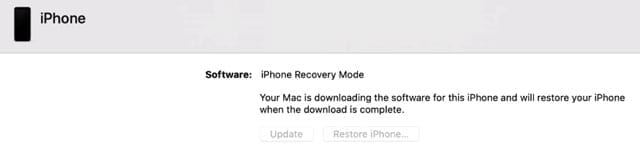 Mac Finder in recovery mode