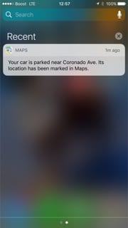 iOS 10 Parked Car Feature Not Working