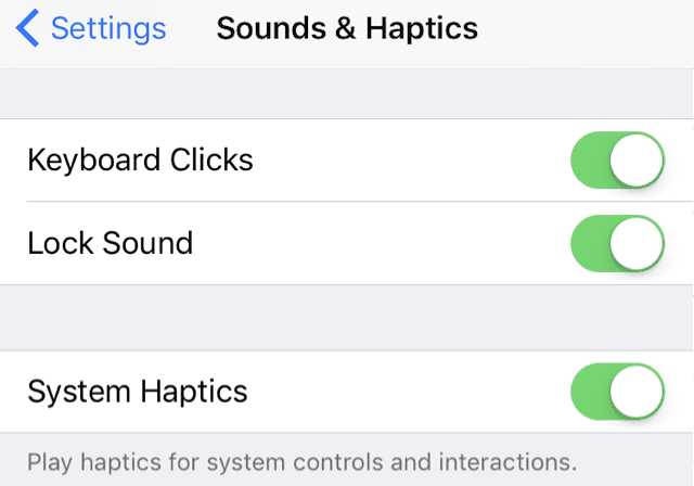 iPhone System Haptics, Overview