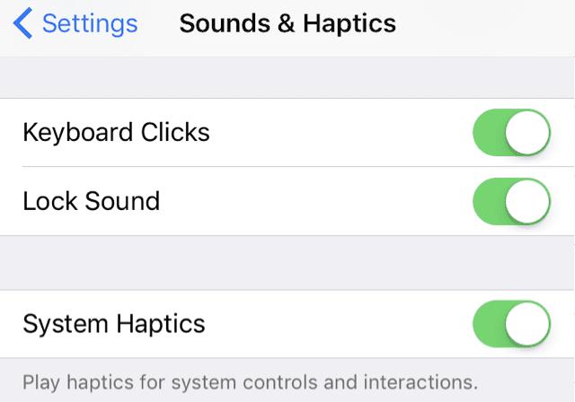 iPhone System Haptics, Overview