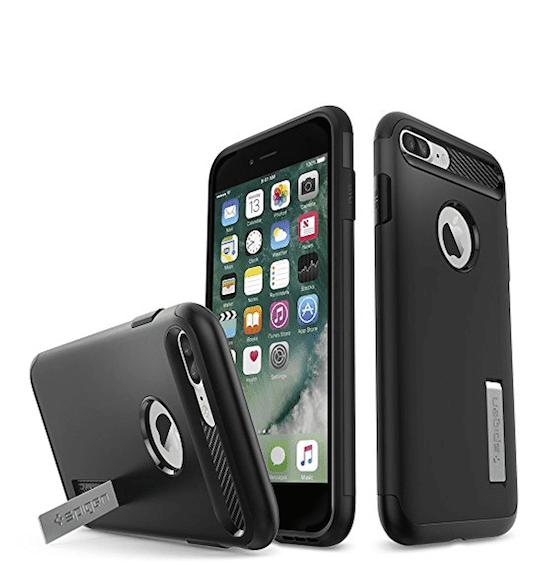Чехол Spigen Slim Armor для APPLE iPhone 7 / 8 Steel 042CS20301