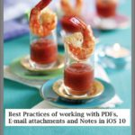iOS 10 Practical Tips on using PDF and Notes in e-mail