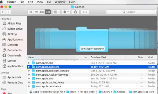 Blank App Store on MacBook,How-To
