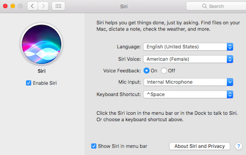 How to Setup Hey Siri on Macbook