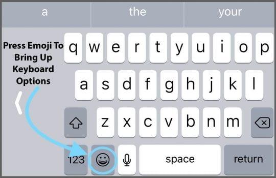 iPhone, iPad Keyboard Shortcut Bar Disappeared, Fix