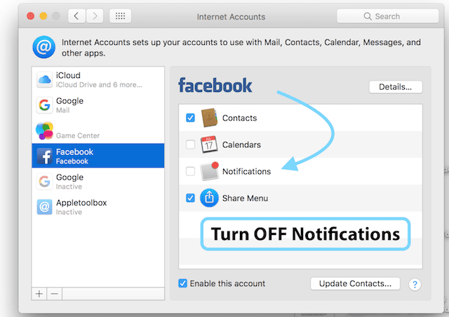 Facebook Notifications Keep Repeating on MacBook, How-To Fix