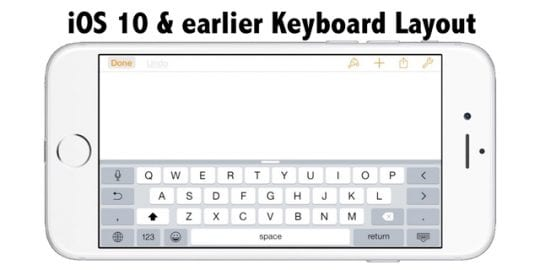 iPhone, iPad Keyboard Shortcut Bar Disappeared, Fix