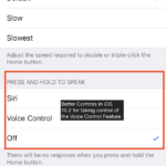 Disable Voice Control for Good on your iPhone, How-To
