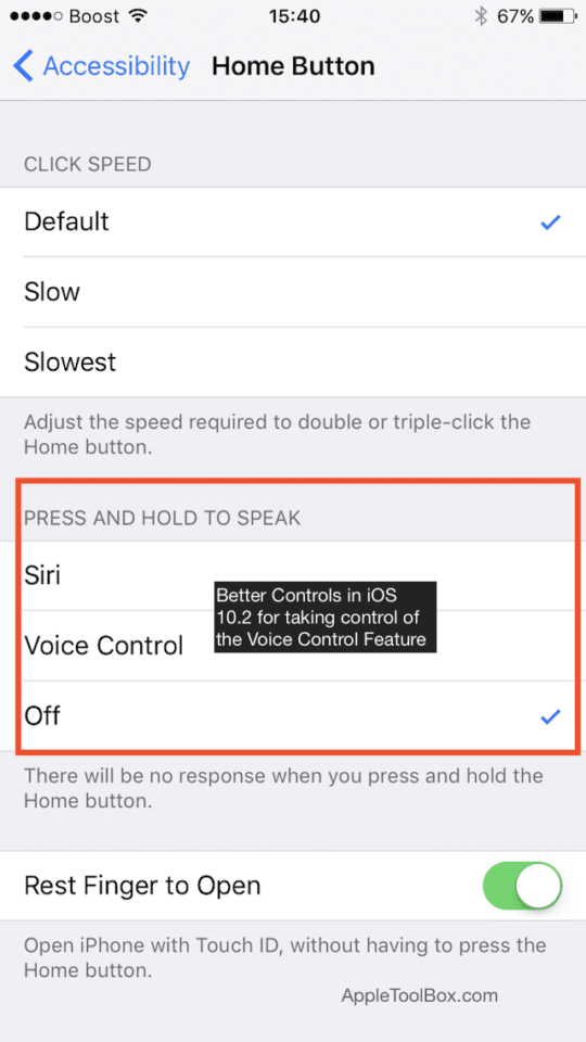 turn off voice control iphone disable voice for on your iphone how to 1255