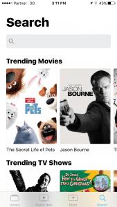 In Depth Look at TV App iOS 10.2