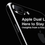 Dual Lens Here to Stay, Apple Supplier Hits New Highs