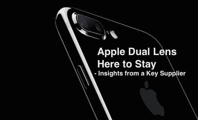 Apple Dual lens Supplier