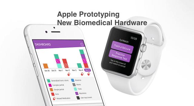Apple Working on BioMedical Hardware Prototypes