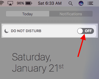 How To Stop Notifications on Macbook