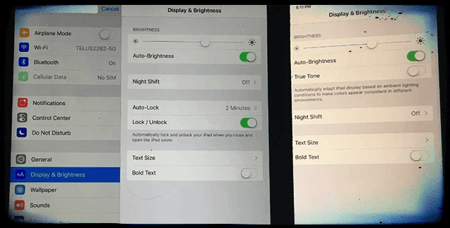 the best attitude d84d5 530ef Is Your iPhone Display Too Dim, Yellow, or Dark? Fix Display ...