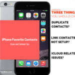 iPhone Favorite Contacts Not Working, How-To