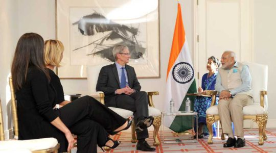 January 25, Apple Team to Meet Indian Officials