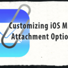 Customize Your iPhones Mail Attachment Options, Quick-Tip