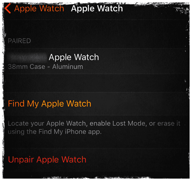 How do i sync my contacts on my apple watch