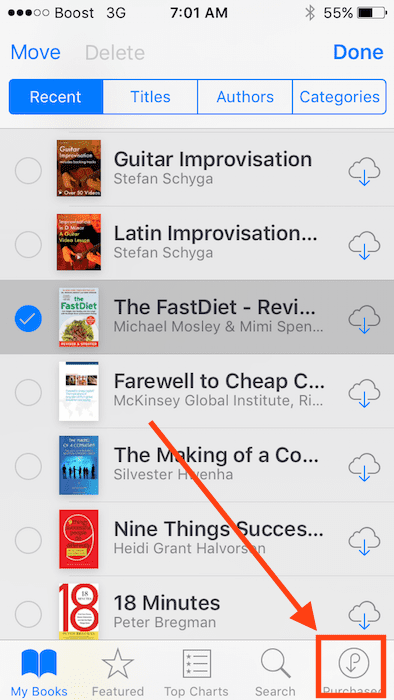 iBooks Not Downloading, how-To
