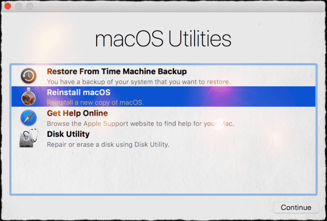 how to get to disk utility on mac startup