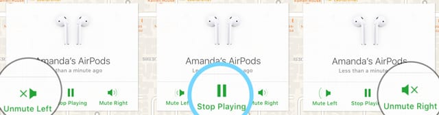 mute or stop playing chirp sounds for iOS Find My AirPods