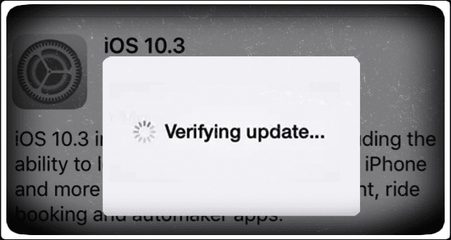 Error Occurred Installing iOS 10.3, How-To Fix