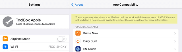 How To Check for App Compatibility in iOS 10.3
