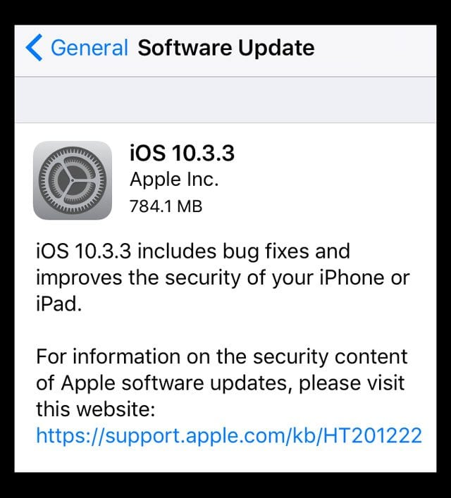 Error Occurred Installing iOS 10 3, How-To Fix - AppleToolBox