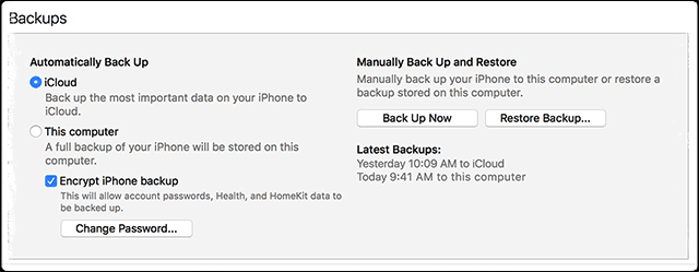 Q&A - Upgrading To a New iPhone, Should I Encrypt Backups?