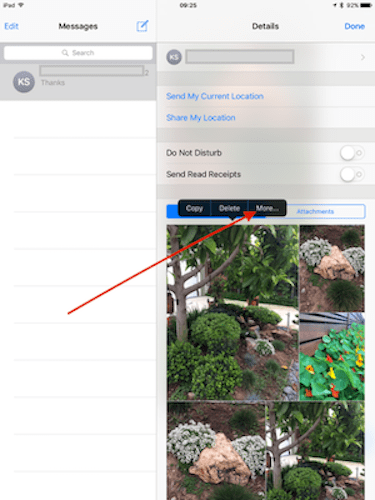 How-To Save iMessage images into Photos