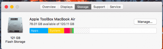Manage Disk Space in macOS