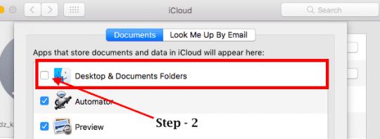 How to Stop iCloud From Syncing Desktop Folders