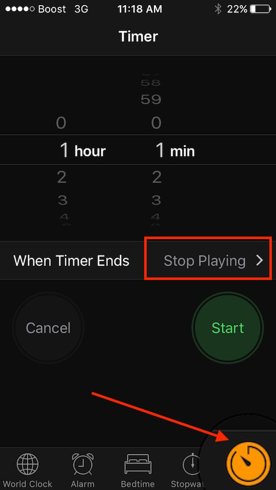 How to Setup a Timer for Your iPad Videos