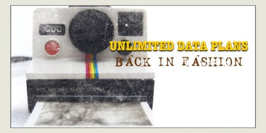 Unlimited Data Plans for Your iPhone: Back in Fashion