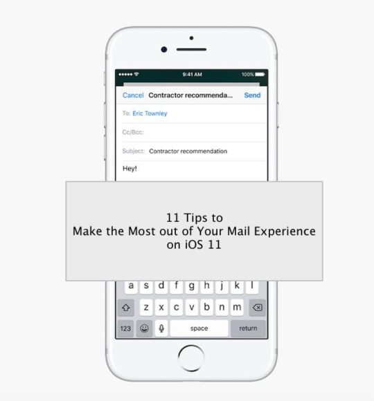 11 Tips to Make the Best out of iOS 11 Mail App - AppleToolBox