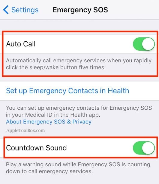 How to use Emergency SOS Feature on iPhone