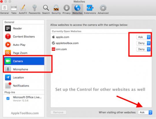 macOS High Sierra Safari Tips