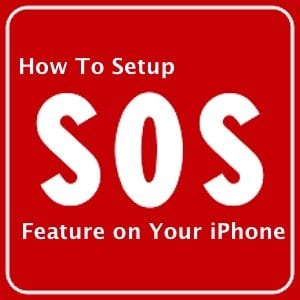 How to Setup Emergency SOS on iPhone
