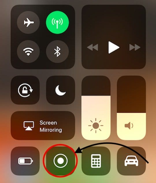 How to Record Your iPhone Screen using iOS 11