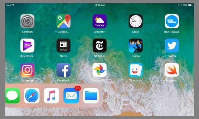 How-To Use Your iPad Dock in iOS 11