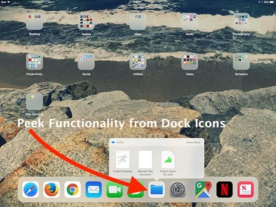 How to Use iPad Dock