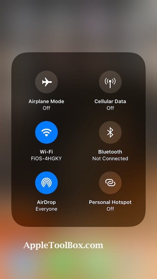 How to Customize Control Center on iOS 11