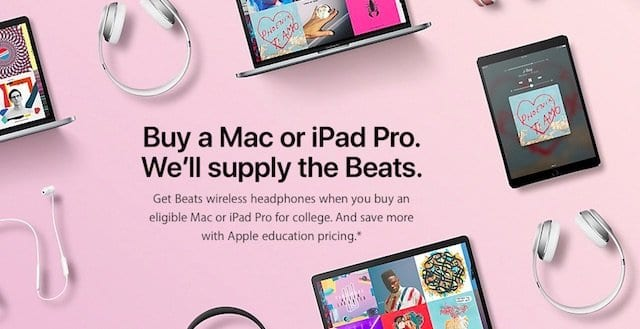 Apple Back to School
